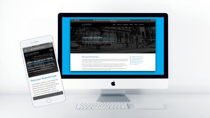 Counterpoint Wealth website