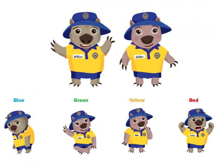 Ipswich State School Wombats