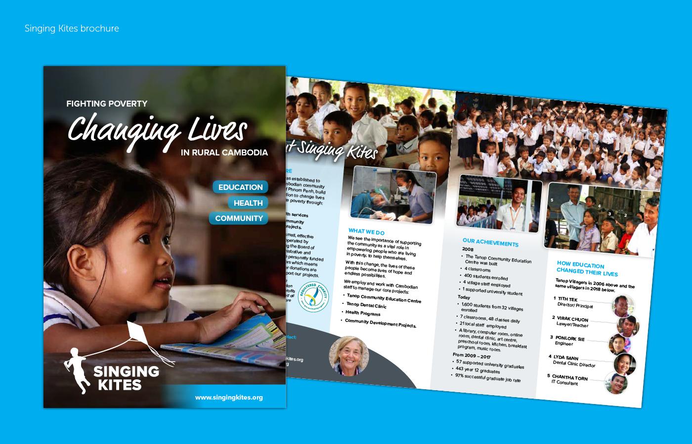 Singing Kites brochure